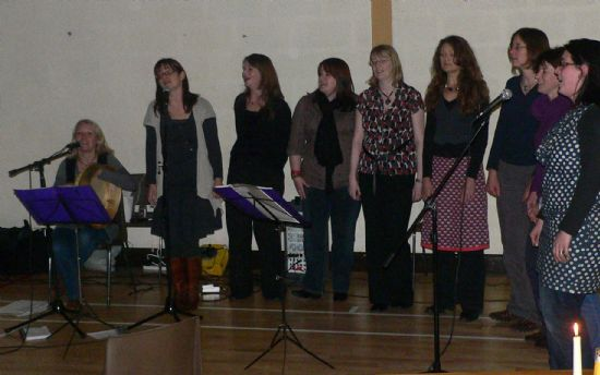 aimee, sarah jane, kirsty, lynn, adele, mary, lal, ali, emily (marcia is missing from this photo, but was part of it too!)
