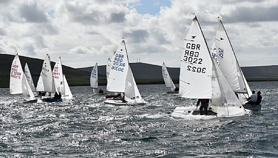 racing starts at the uk snipe nationals 2017