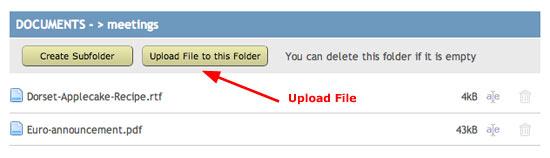 spanglefish 2 - upload file