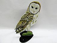 BARN OWL POST TOPPER  IN STOCK
