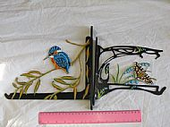 Kingfisher/spanish festoon butterfly bracket