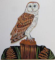 Barn Owl Hook Bracket