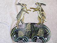 large boxing hares holder
