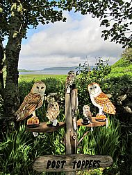 OWLS ON POST