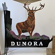 stag house sign