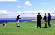 golfers at fortrose and rosemarkie golf course