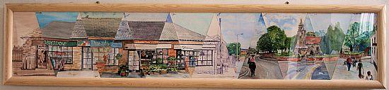 picture of keyworth, by keyworth art club
