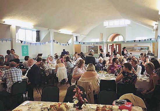vintage teaparty fundraiser