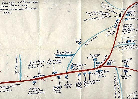 1920s plumtree map