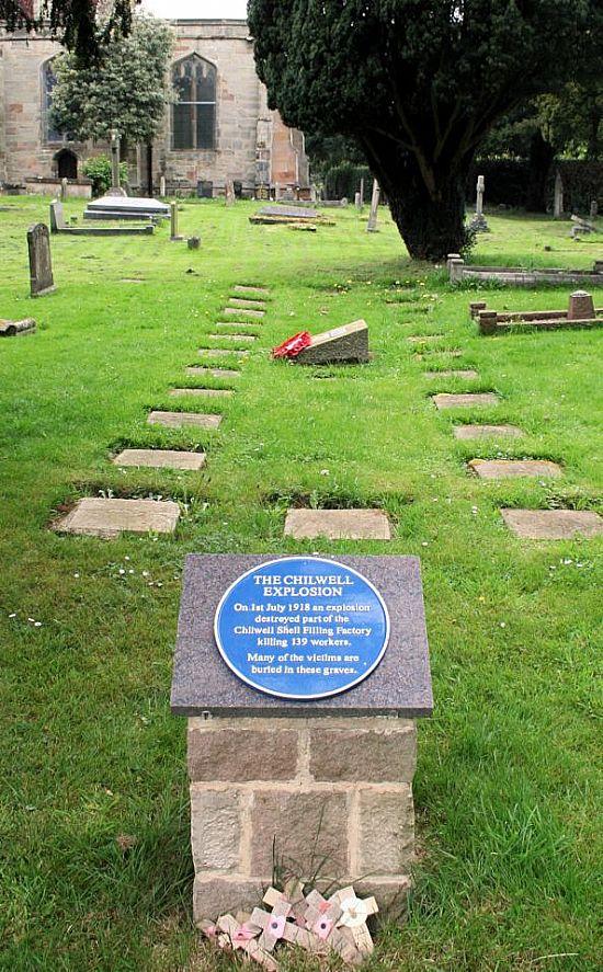 attenborough churchyard