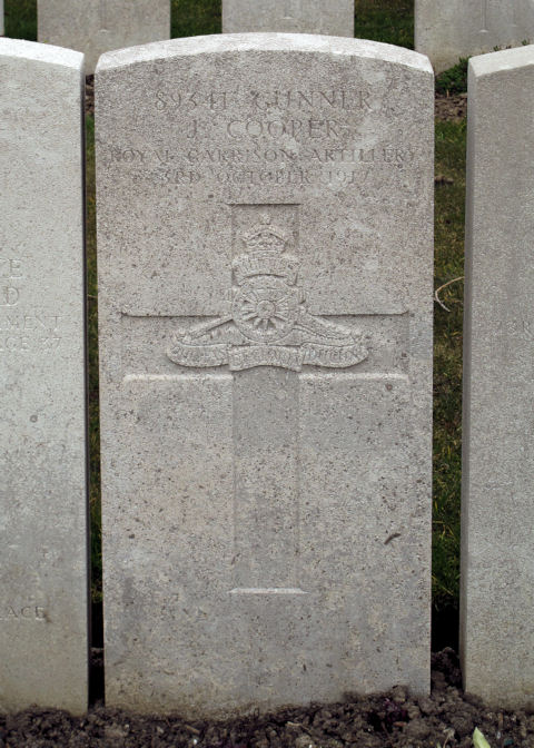 joseph cooper - gravestone