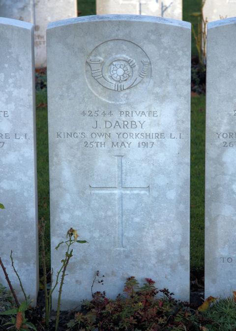 john darby - gravestone