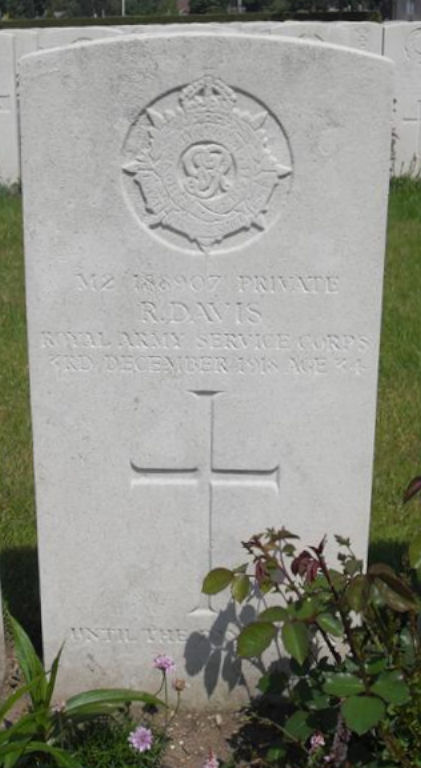 robert davis - gravestone