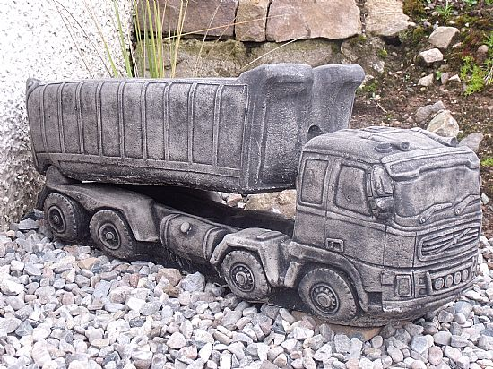 Bon Volvo Tipper Lorry Planter, 740mm Long, £60