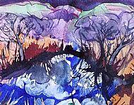 Reflections, Ederline Loch. Sold