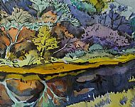 Reflections, Fairy Isles. Sold