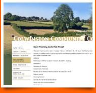 colwinton community council - spanglefish