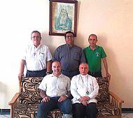 bienvenida obispo y vicarios