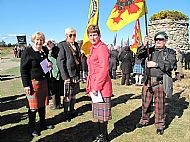 Culloden Commemoration 18th April 2015
