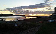 Sunset at Findhorn