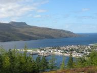 ullapool on loch broom.