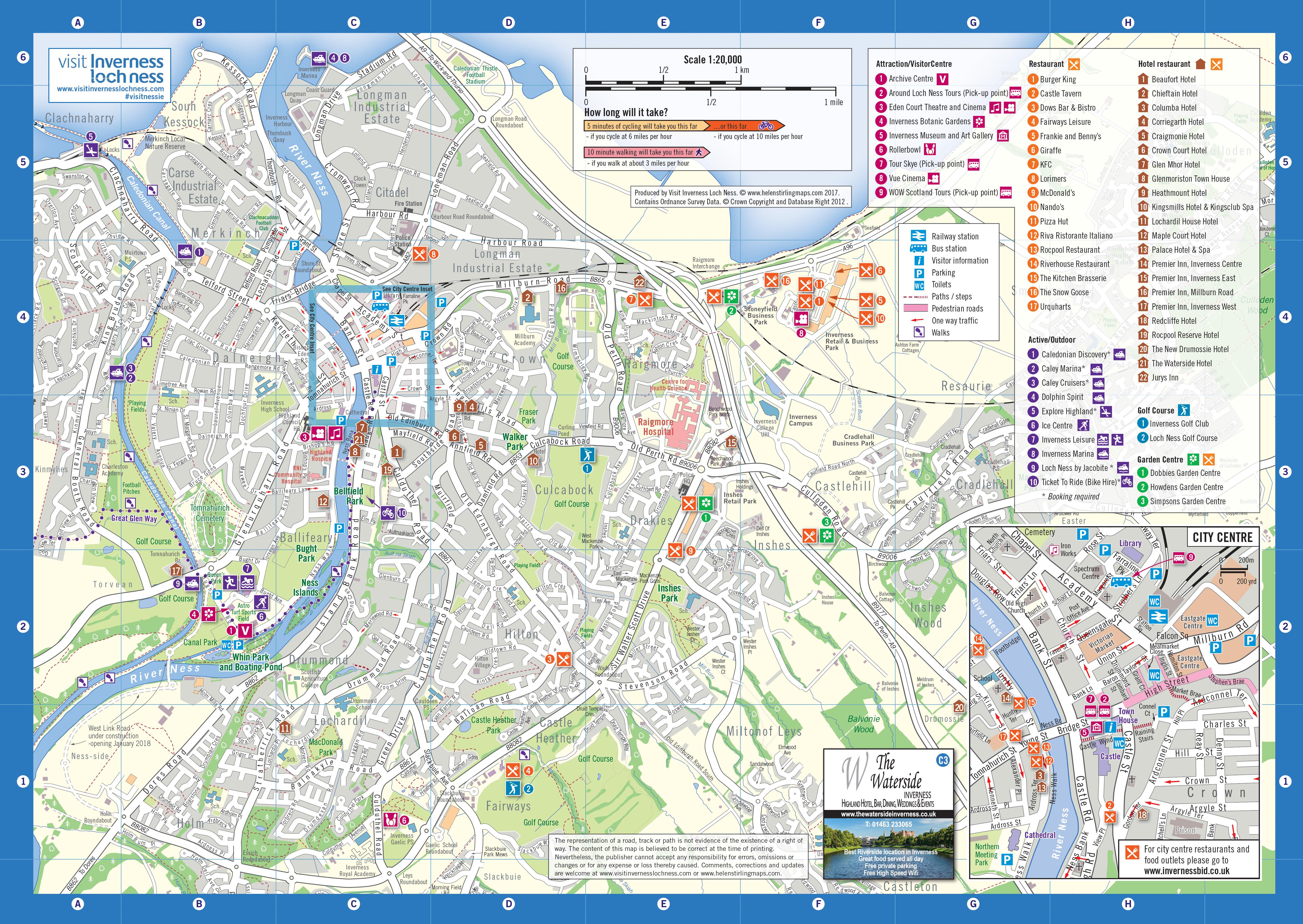 helenstirlingmaps Visitor Guide Maps