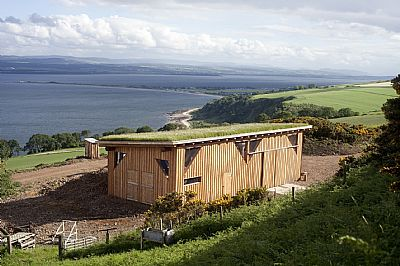 black isle yurts - the barn