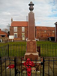 War Memorial on the Village Green