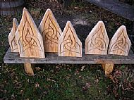Chain saw carvings