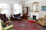 The spacious sitting room.