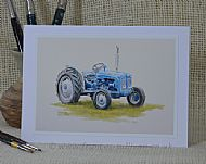 Fine Fordson - tractor
