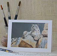 An Ounce of Sun - snow leopard