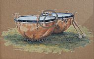 Cavalry Drums - Household Cavalry drums