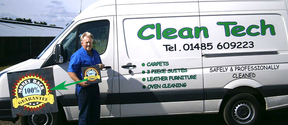 cleantech's 100% cleaning guarantee