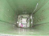 Green Bin Before Cleaning