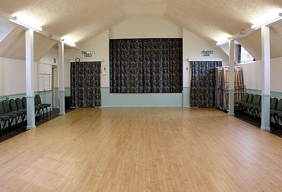 burnside memorial hall - interior
