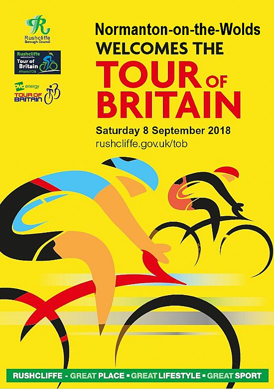 normanton welcomes the tour of britain