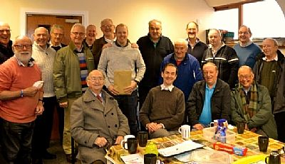 some of the members of the inverness men's shed