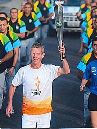 Douglas Cowie Carries the Torch