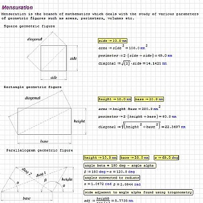 image of smath calculation sheet, link to live document