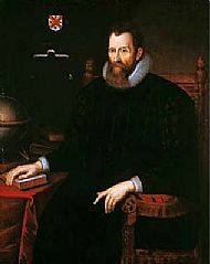 image of john napier - scottish mathematician