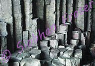 Basalt Columns with unusual colouring