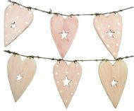 EAST OF INDIA WOODEN BUNTING - PINK