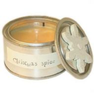 EAST OF INDIA SCENTED CANDLE - CHRISTMAS SPICE