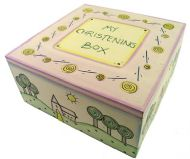 EAST OF INDIA SQUARE CHRISTENING BOX