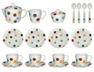 EMMA BRIDGEWATER MELAMINE TEA SET- POLKA DOT DESIGN