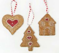 GINGERBREAD KIDS TREE DECORATION