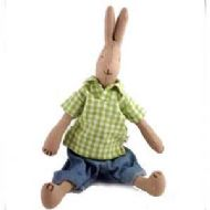MAILEG GINGHAM BOY RABBIT