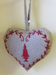SCENTED CHRISTMAS HEART