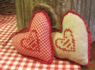 LITTLE FABRIC HEART